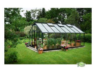 Gardener 214 antraciet grijs - 368 x 583 cm (bxl) 160/275 cm (h)
