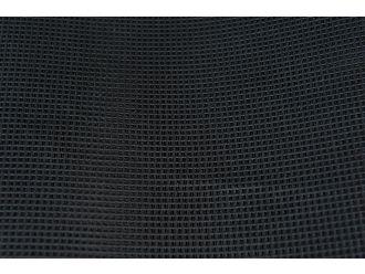 Schermdoek zwart 4m breed