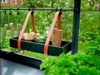 Hanging tray 36 x 14,5 x 6 cm