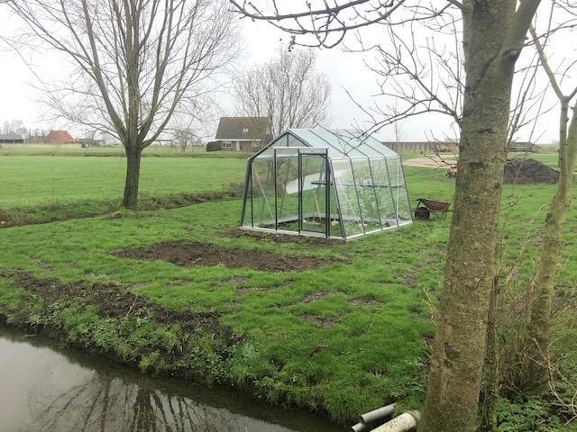 S104 HB hobbykas te Wergea (Friesland)